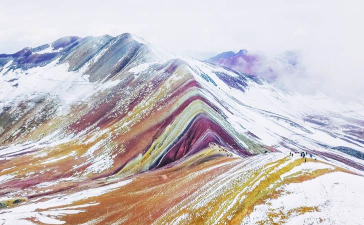 Trekking Vinicunca – Montaña de colores – Rainbow Mountain Vinicunca.